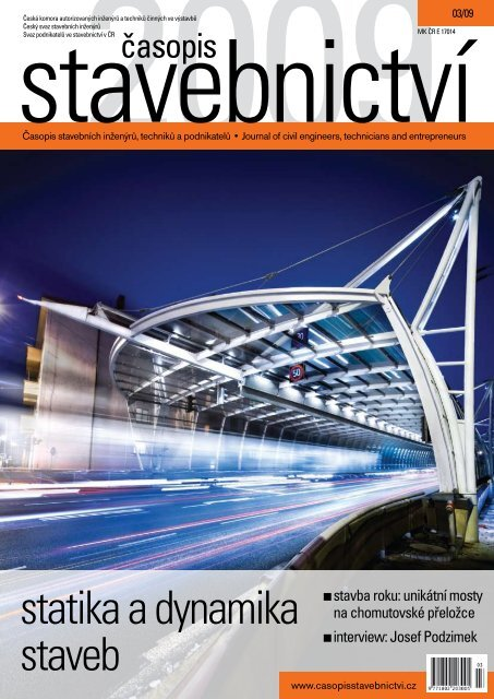 statika a dynamika staveb - Časopis stavebnictví