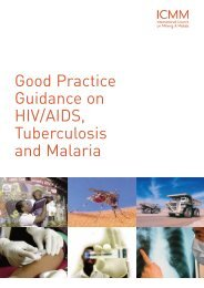 Good Practice Guidance on HIV/AIDS, Tuberculosis and ... - ICMM