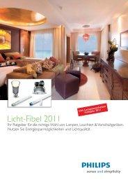 Licht-Fibel 2011 - Philips Lighting