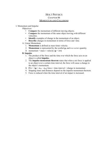 Study Guide Holt Physics Answers