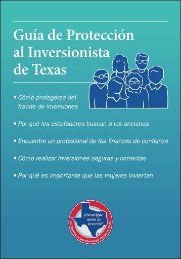 Guía de Protección al Inversionista de Texas - Texas Investor ...