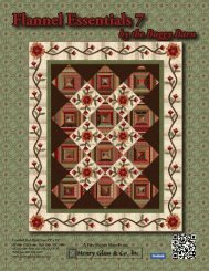 Flannel Essentials 7 Quilt - Henry Glass & Co