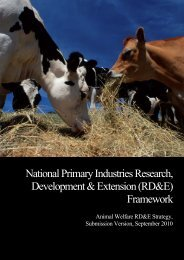 The Livestock Management Act - Animal Welfare Science Centre