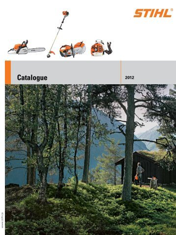 Stihl Catalogue here - C & T Rentals