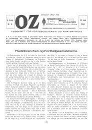 Radiobranchen og Kortbølgeamatørerne. - Søg i OZ