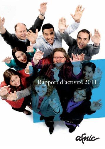 Télécharger le rapport d'activité 2011 - Afnic