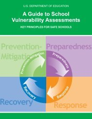 Guide to School Vulnerability Assessments - Readiness and ...