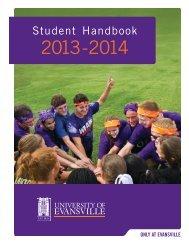 Student Handbook - University of Evansville
