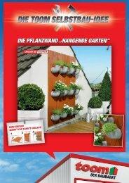"""die Pflanzwand """"Hängende Gärten"""""""