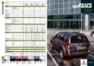 Catálogo Especificaciones - Suzuki