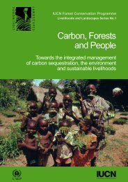 Carbon, Forests and People - Centre for Mediterranean Cooperation ...
