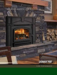 ACC WOOD INsERts FOR FIREPlACEs - Hearth & Home ...