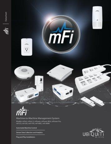mFi   Datasheet - Ubiquiti Networks