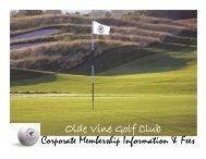 Olde Vine Golf Club