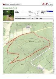 Nordic Walking-Strecke Queidersbach Tour 2 - Zentrum Pfälzerwald