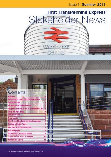 Stakeholder News - Community Rail Lancashire