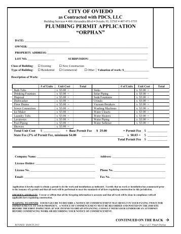 City Of Arlington Building Permit Application