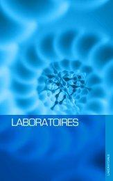 les laboratoires du Bioparc - Genopole