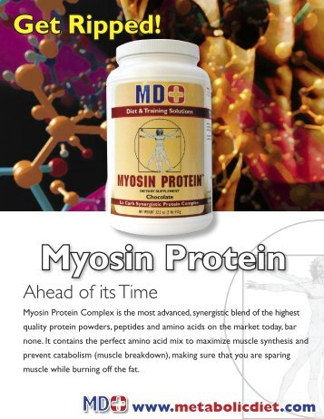 MYOSIN PROTEIN - MD+ Store