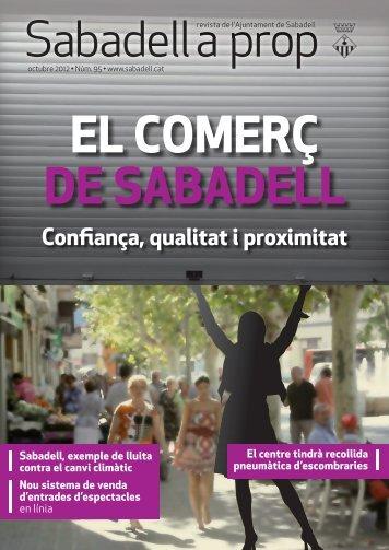 Confiança, qualitat i proximitat - Ajuntament de Sabadell