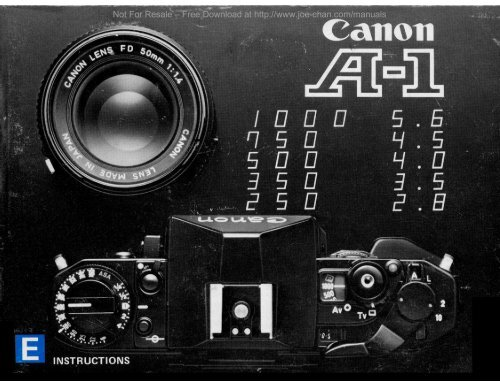 canon manuals free download