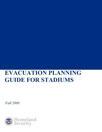 Evacuation Planning Guide for Stadiums - Southeast Tourism Society