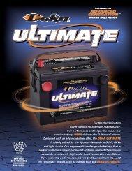 Deka Ultimate - Wholesale Batteries Inc.