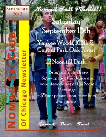 September 2012 newsletter.pub - Chicago Nomads Ski Club