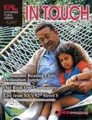 June - August 2010 - Kitchener Public Library