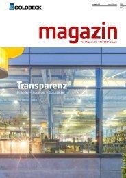 Magazin - Ausgabe 48 - Herbst/Winter 2013/2014