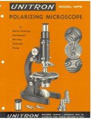 Unitron MPS brochure - Earth-2-Geologists