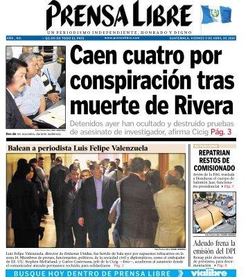 Detenidos ayer han ocultado y destruido pruebas de ... - Prensa Libre
