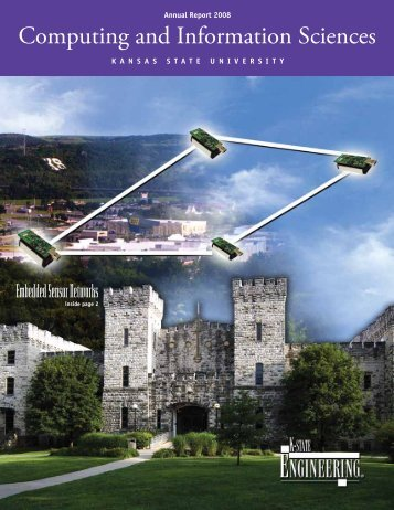 2008 CIS Annual Report - Computing and Information Sciences ...