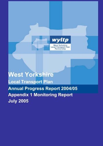 Annual Progress Report 2004 - 2005 Appendices - Metro