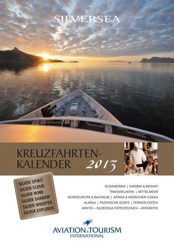 KREUZFAHRTEN- KALENDER 2013 - von Beust & Partner