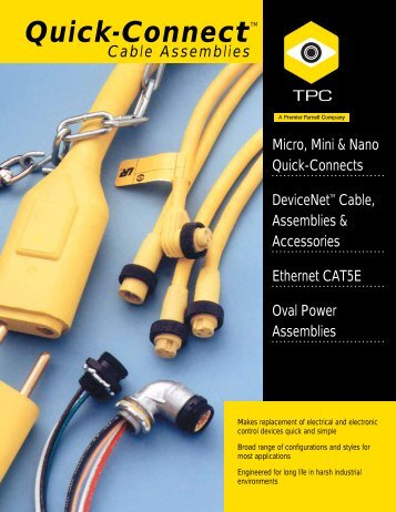 Electrical Cord and Cable - TPC Wire & Cable