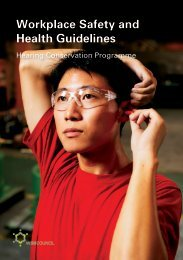 Workplace Safety and Health Guidelines