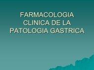 Farmacología Clínica de la Patología Gástrica - caded