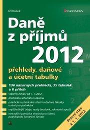 Nahlédnout do Daně z příjmů 2012