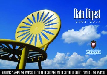 2003-04 Data Digest - Academic Planning and Institutional ...