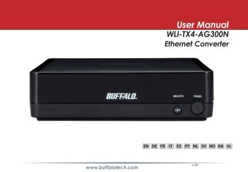 User Manual WLI-TX4-AG300N - Cloud