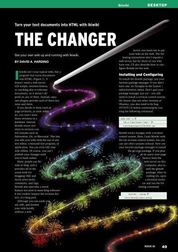 THE CHANGER - Ubuntu User