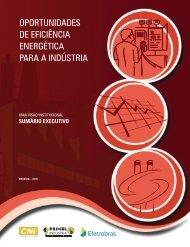 OpOrtunidades de eficiência energética para a indústria - Cetesb