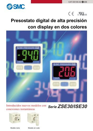 Serie ZSE30/ISE30 - SMC ETech