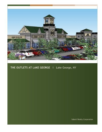 The Outlets at Lake George Overview - FFO Real Estate Advisors