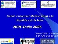 Misión Comercial Multisectorial - ProArgentina.Gov.Ar