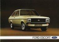 Ford Escort II - Niemcy - 09.1978 - Capri.pl