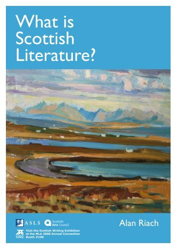 What is Scottish Literature?