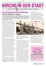 Ausgabe August bis Oktober 2009 - Evangelische ...