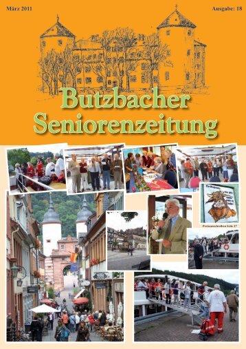 Butzbacher Seniorenzeitung - Seniorenbeirat Butzbach